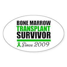 BMT Survivor Since '09 Oval Decal