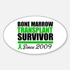 BMT Survivor Since '09 Oval Decal