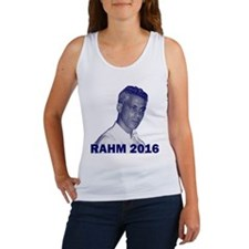Rahm Emanuel: RAHM 2016 - Women's Tank Top