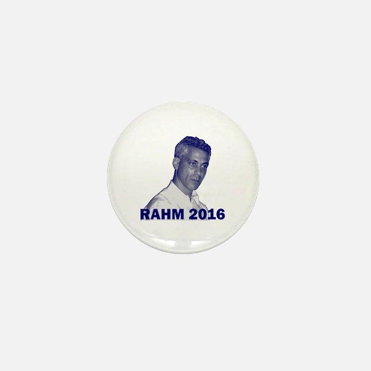 Rahm Emanuel: RAHM 2016 - Mini Button