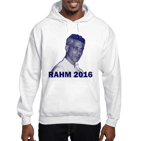Rahm Emanuel: RAHM 2016 - Hooded Sweatshirt