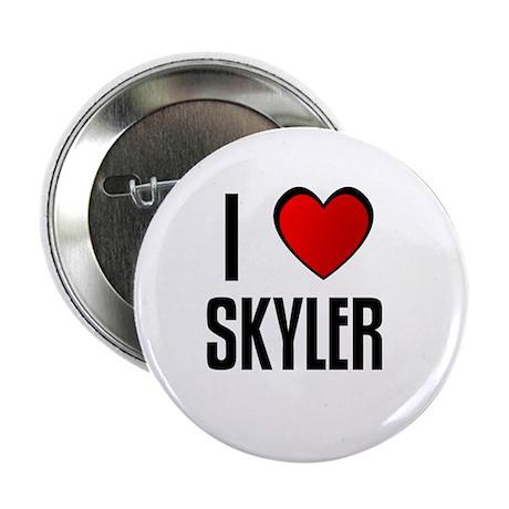 "I LOVE SKYLER 2.25"" Button (100 pack)"