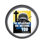 The GOP Is Watching! Wall Clock