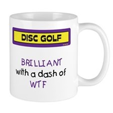 WTF Mug (Yellow and Purple)