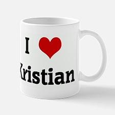 I Love Kristian Mug