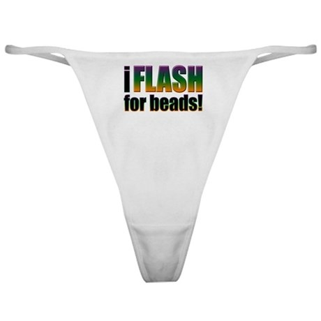 I Flash for Beads Classic Thong