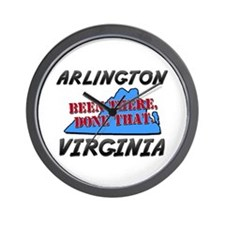 arlington virginia - been there, done that Wall Cl