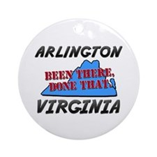 arlington virginia - been there, done that Ornamen