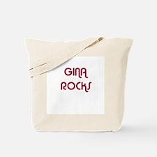 GINA ROCKS Tote Bag