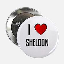 I LOVE SHELDON Button