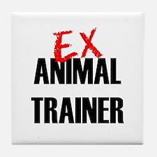 Ex Animal Trainer Tile Coaster