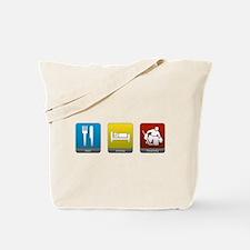 Eat, Sleep, Hockey Tote Bag