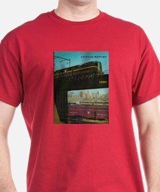 PENNA. RAILROAD 1960 Cover T-Shirt