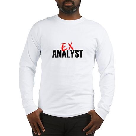 Ex Analyst Long Sleeve T-Shirt