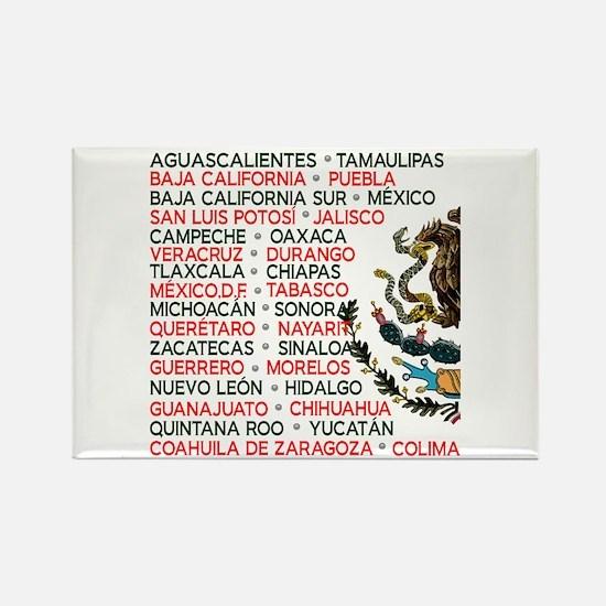 Mexico Lindo Rectangle Magnet
