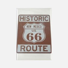 Rt. 66 New Mexico Rectangle Magnet