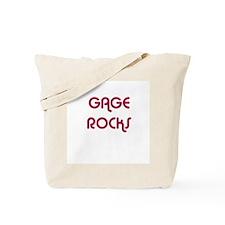 GAGE ROCKS Tote Bag