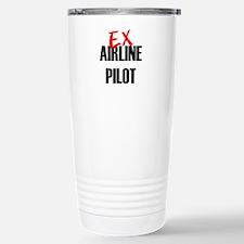 Ex Airline Pilot Stainless Steel Travel Mug