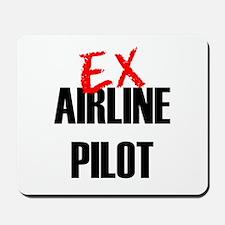 Ex Airline Pilot Mousepad