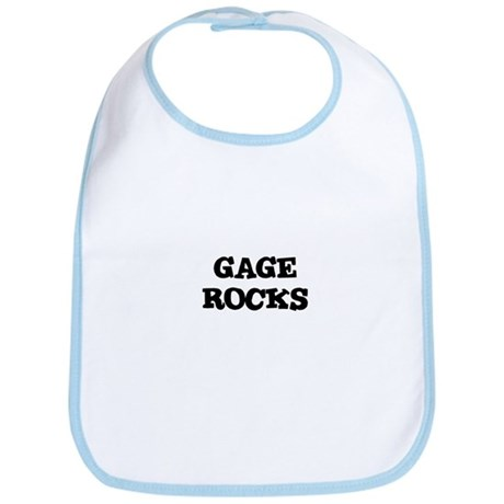 GAGE ROCKS Bib