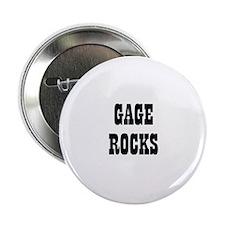 GAGE ROCKS Button