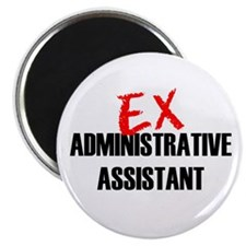 """Ex Administrative Assistant 2.25"""" Magnet (100 pack"""