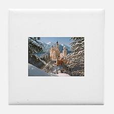 Neuschwanstein Castle Tile Coaster