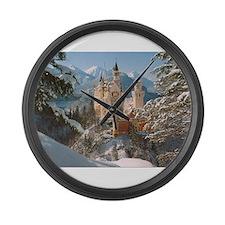 Neuschwanstein Castle Large Wall Clock