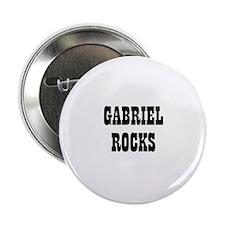 GABRIEL ROCKS Button