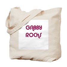 GABBY ROCKS Tote Bag