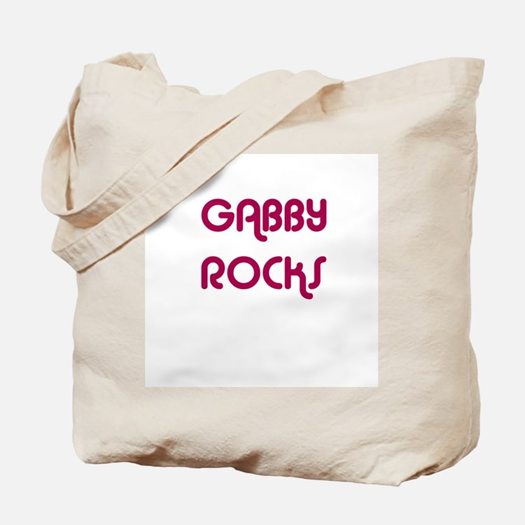 GABBY ROCKS Tote Bag