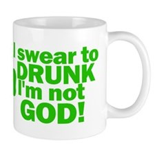 I'm Not GOD Funny Irish Mug