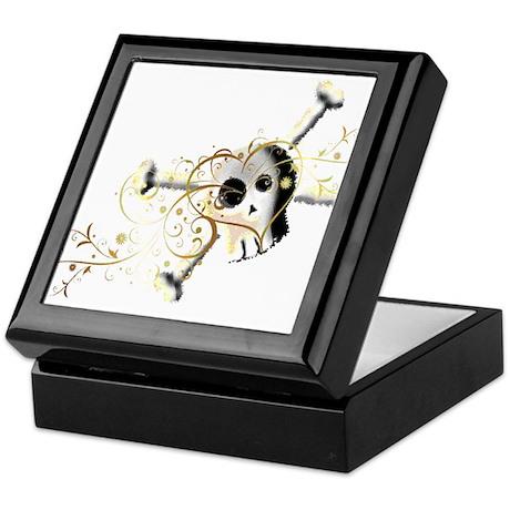 Heart & Skull Keepsake Box