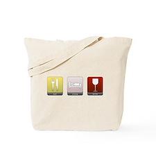 Eat, Sleep, Wine Tote Bag