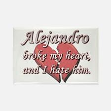 Alejandro broke my heart and I hate him Rectangle