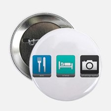 "Eat, Sleep, Photography 2.25"" Button (100 pack)"