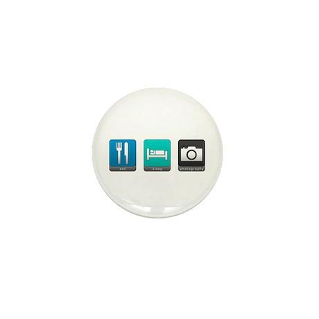 Eat, Sleep, Photography Mini Button