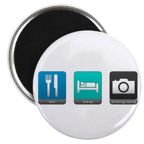 Eat, Sleep, Photography Magnet