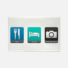 Eat, Sleep, Photography Rectangle Magnet