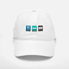 Eat, Sleep, Photography Baseball Baseball Cap