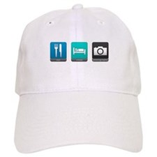 Eat, Sleep, Photography Baseball Cap