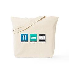 Eat, Sleep, Photography Tote Bag