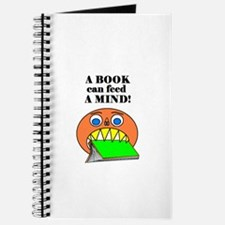 A BOOK CAN FEED A MIND Journal