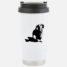 daschund sketch Travel Mug