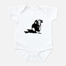 daschund sketch Infant Bodysuit