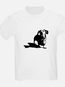 daschund sketch T-Shirt