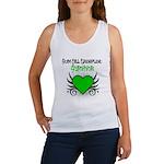 SCT Survivor Grunge Heart Women's Tank Top