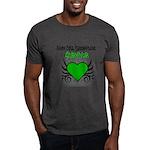 SCT Survivor Grunge Heart Dark T-Shirt