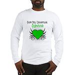 SCT Survivor Grunge Heart Long Sleeve T-Shirt