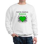 SCT Survivor Grunge Heart Sweatshirt
